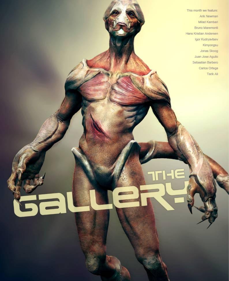 3D Creative 国外3D创意杂志10全年合集-FANCHENBIZ