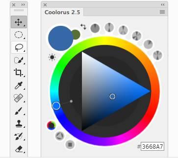 PS专业配色神器Coolorus汉化版 Win/Mac-FANCHENBIZ