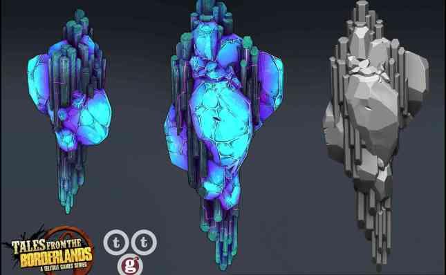 A站 无主之地3 角色 道具 场景模型合集