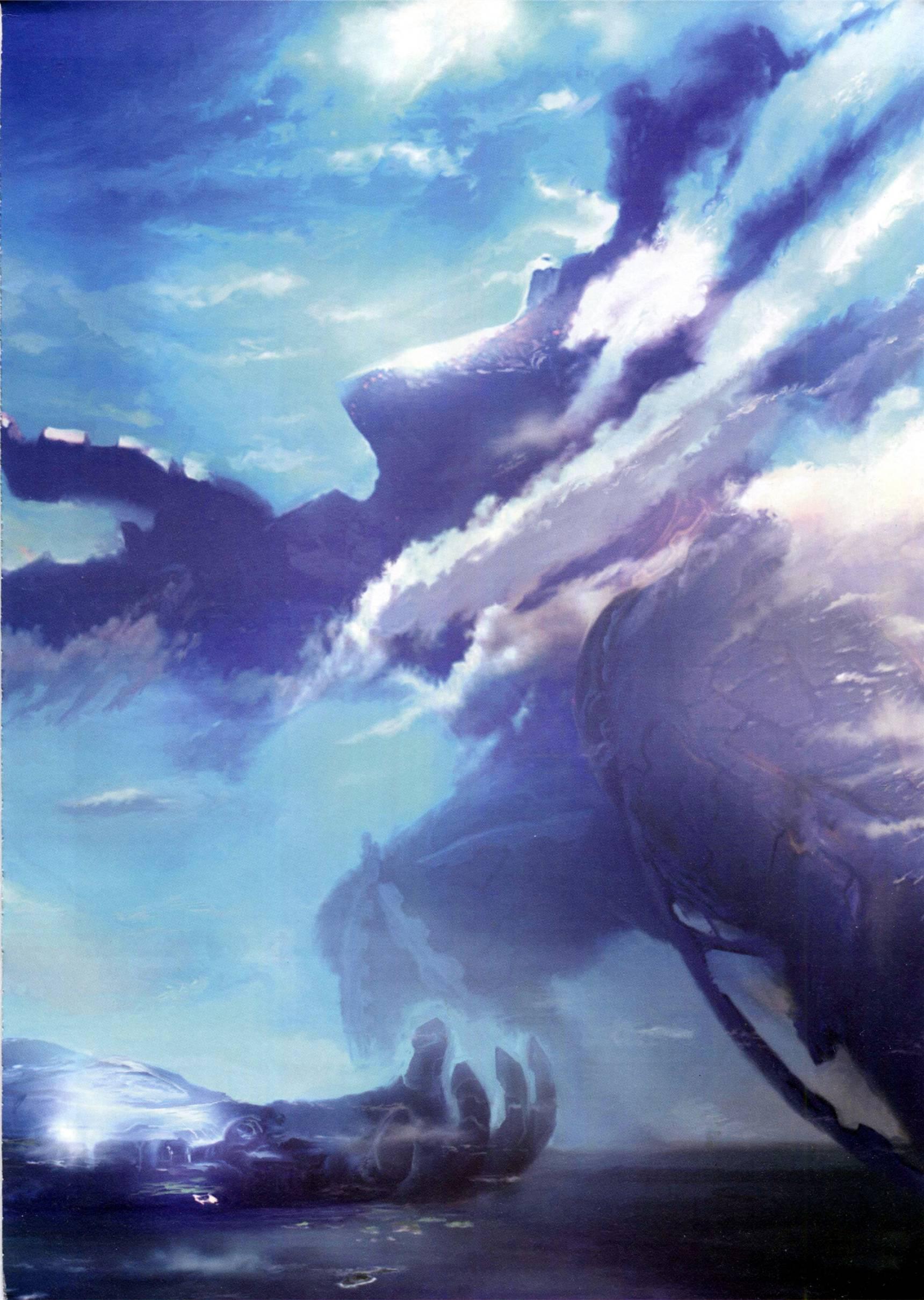 设定画集 异度之刃 Xenoblade 官方游戏设定画集 919.6M-FANCHENBIZ
