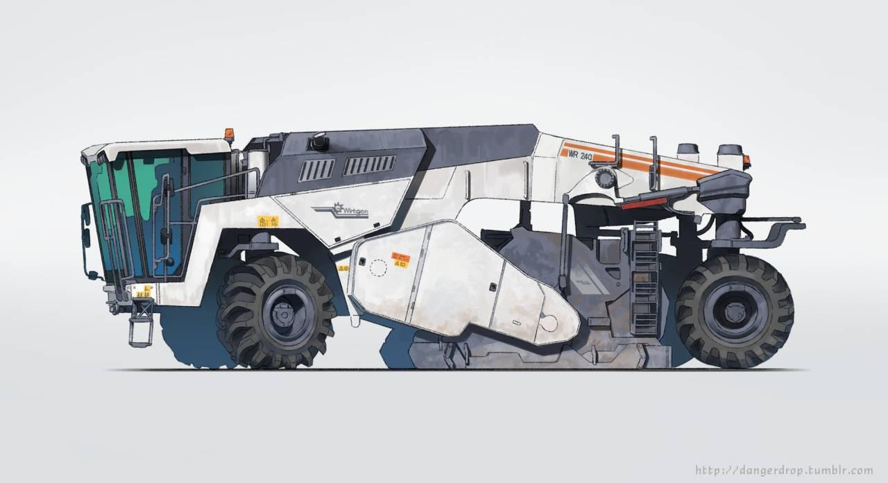 陆行装甲载具设定概念集-FANCHENBIZ