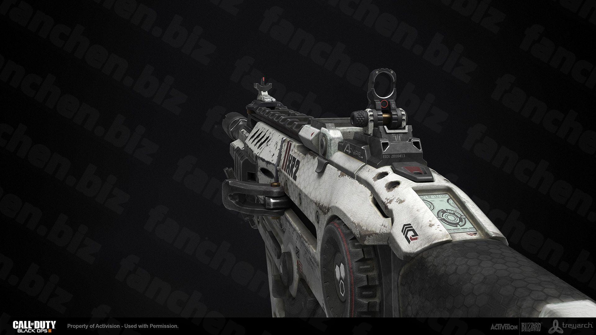 美国高级兵器艺术家Caleb Turner 枪械 武器CG作品-FANCHENBIZ
