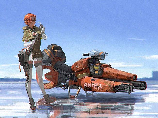 国人美术概念设计师吴旗 概念3D设计作品