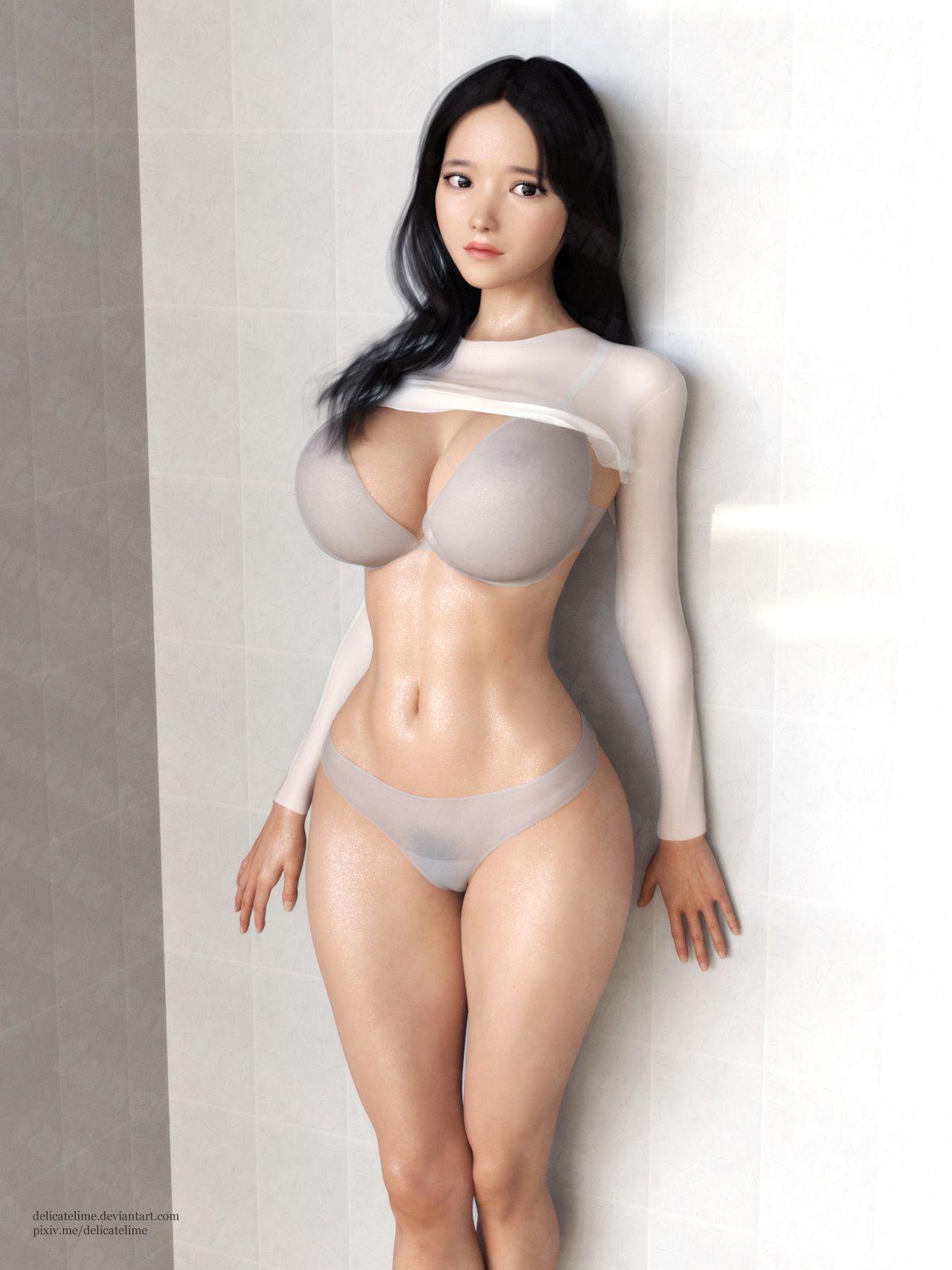 画师Delicatelime 3D唯美作品-FANCHENBIZ