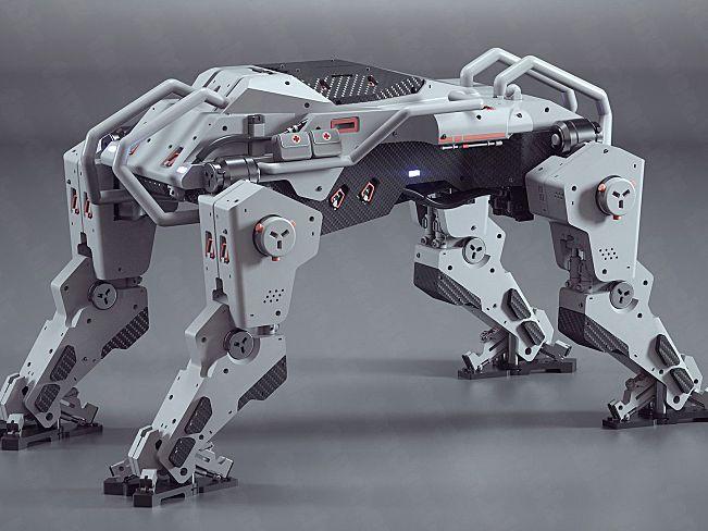 斯洛文尼亚Luka Mivsek 概念机械3D作品 57.5M