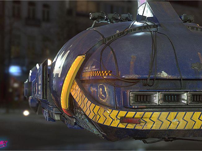 Josh Van Zuylen 科幻机械3D作品合集 131.2M
