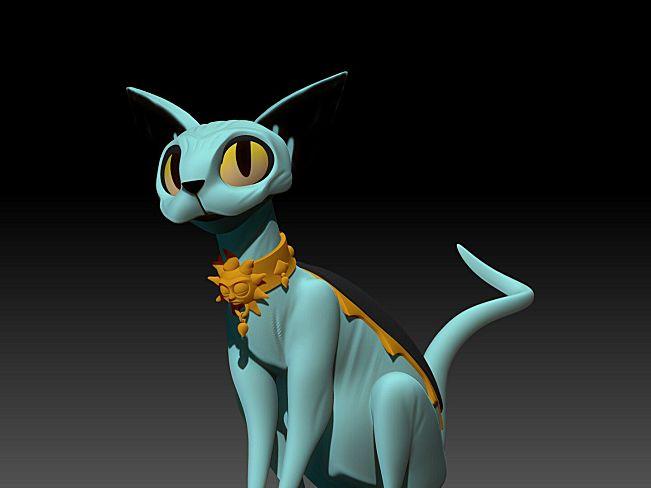 哥斯达黎加艺术家  Henry Vargas 宠物小精灵 3D作品 36.6M