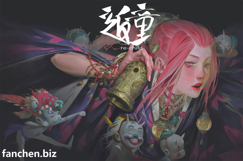 欧美画师 大神精品珍藏CG作品合集 7.3G-FANCHENBIZ