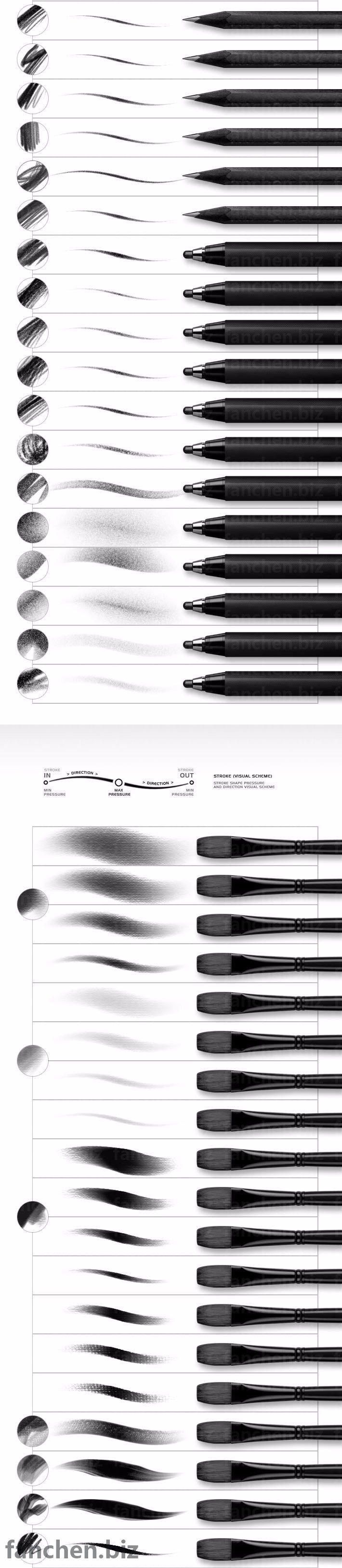 数字绘画PS笔刷上色工具Roman Melentyev MAC+WIN 884M-FANCHENBIZ