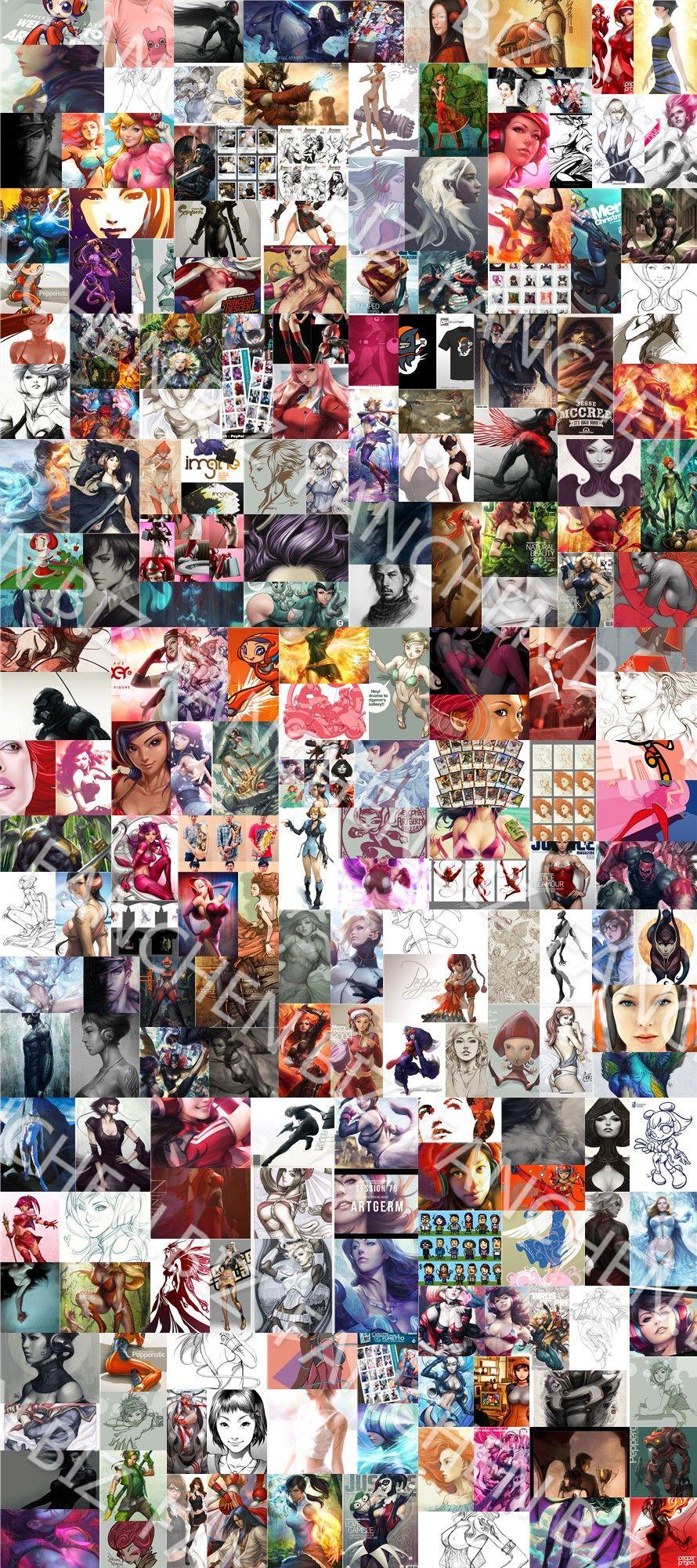 原画视频 欧美画师 Artgerm 插画设计视频1-7季完整版 44.0 GB-FANCHENBIZ