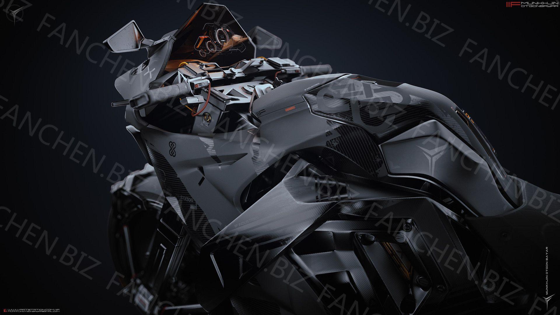 A站画师Munkhjin Otgonbayar 科幻机甲作品合集 516.95M-FANCHENBIZ