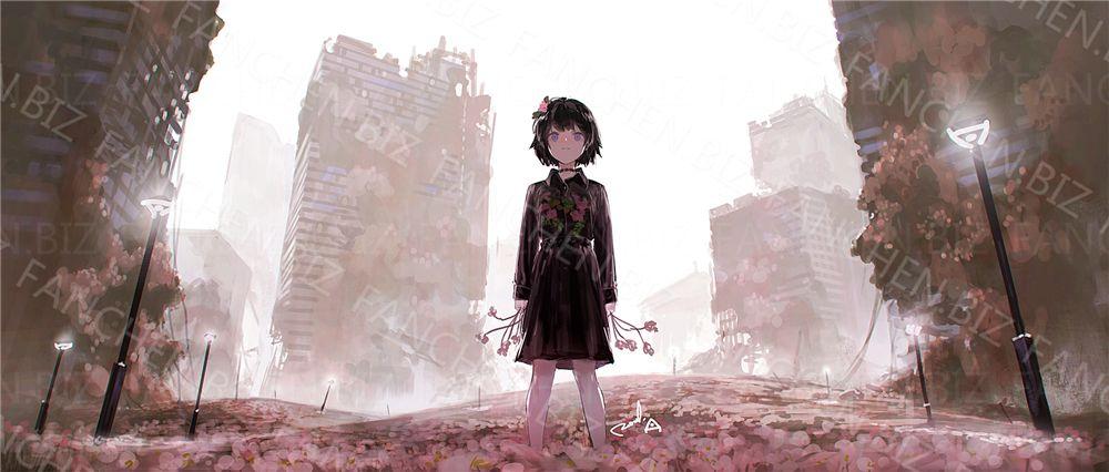P站画师 れおえん二次元插画作品合集 107.72M-FANCHENBIZ
