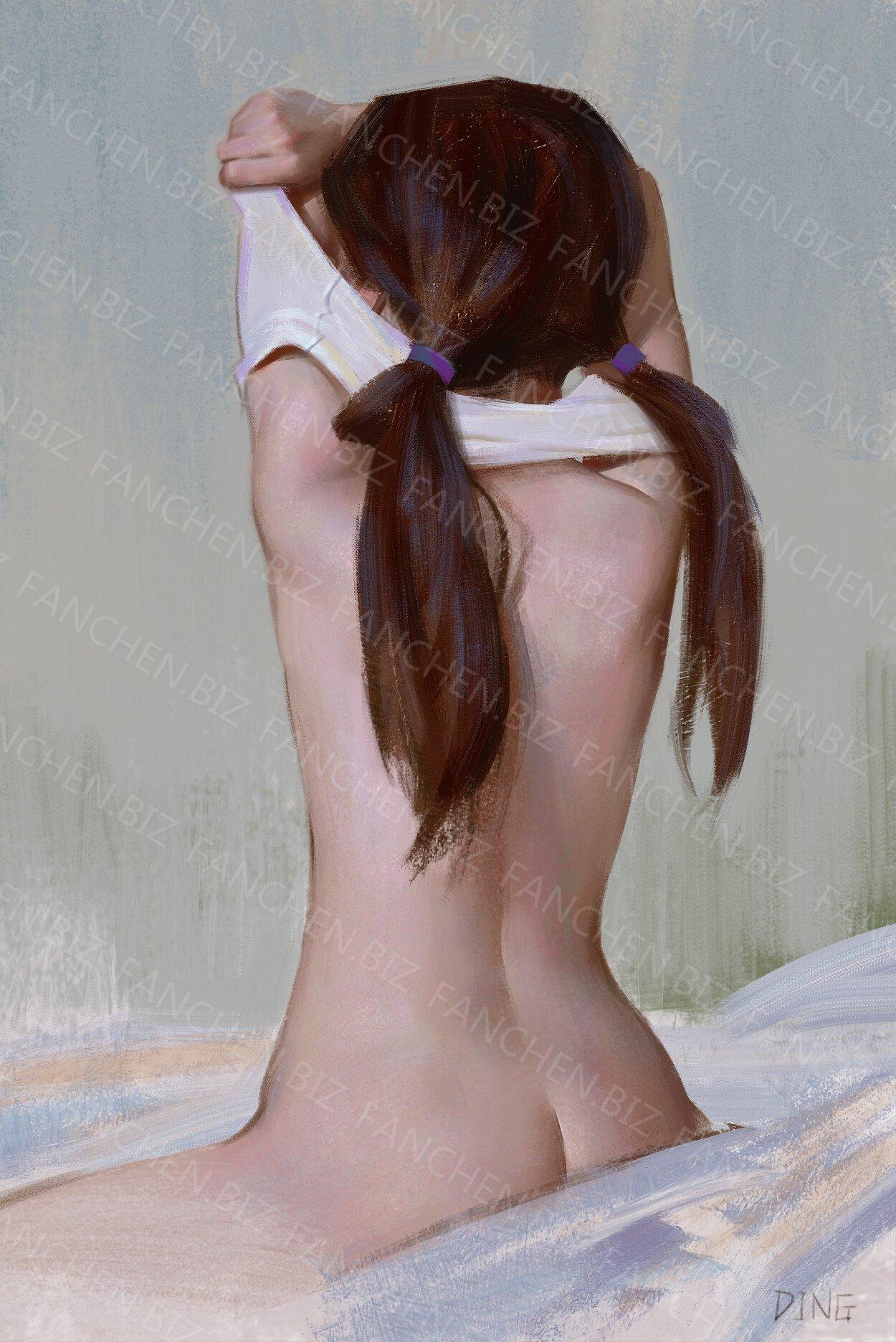 国人画师 Yuhong_Ding原画插画作品合集 58.38M-FANCHENBIZ