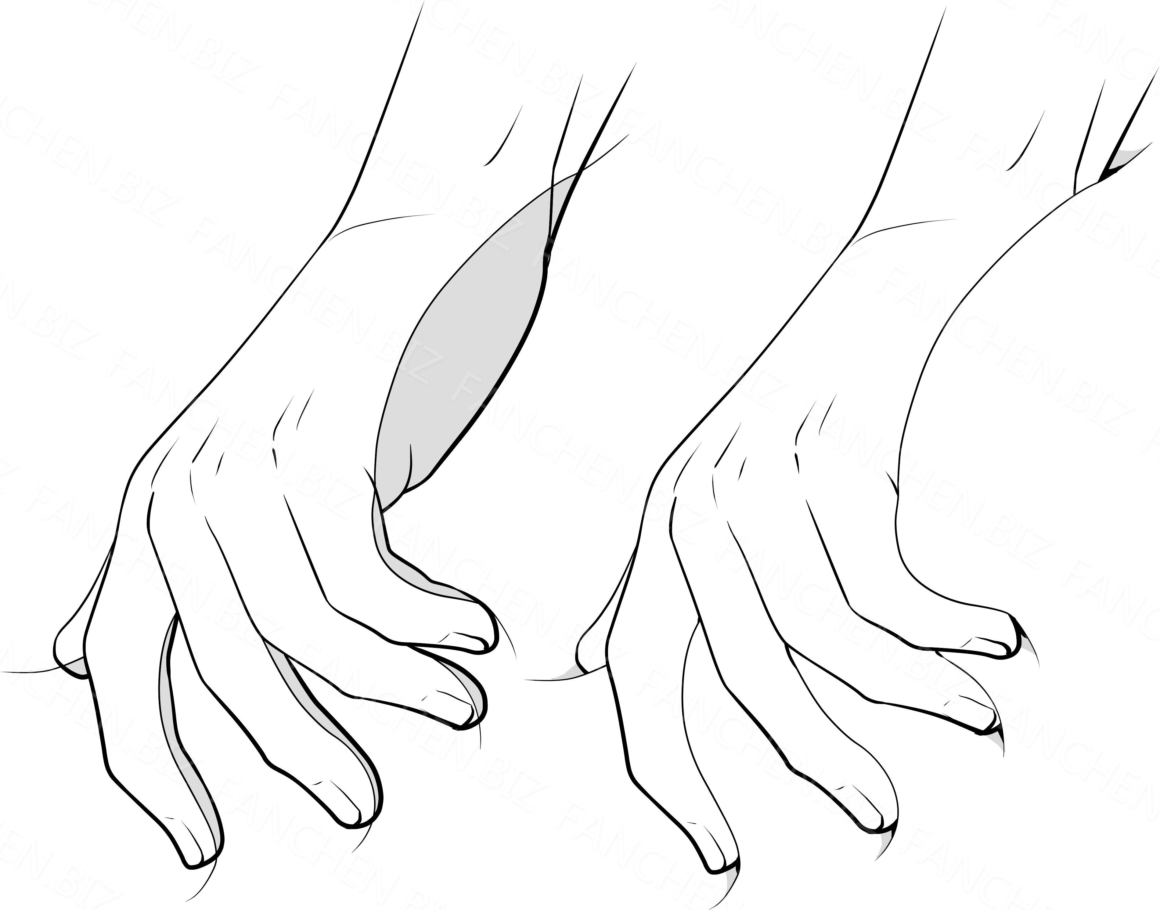 绘画参考 二次元情侣运动人体形态手绘教程合集 附PSD 1.06G-FANCHENBIZ