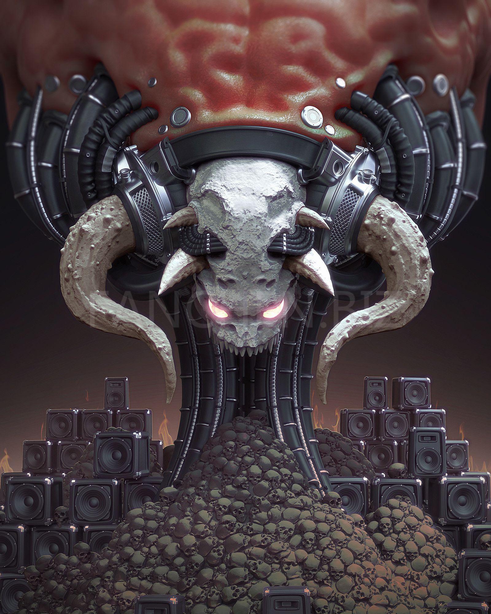 3D作品 怪物 生物 作品合集 83.62M-FANCHENBIZ